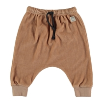 Pants velour Nude