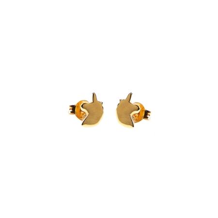 Selva Sauvage oorbellen Unicorn gold