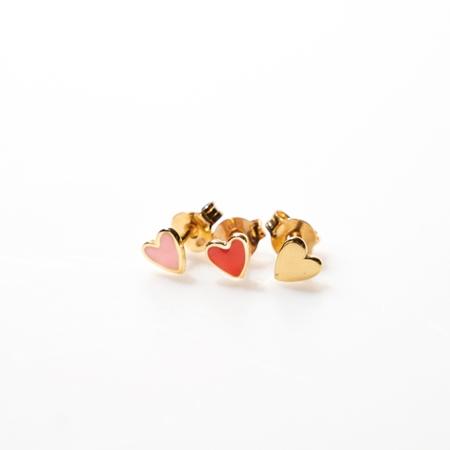 Selva Sauvage oorbellen Heart mix