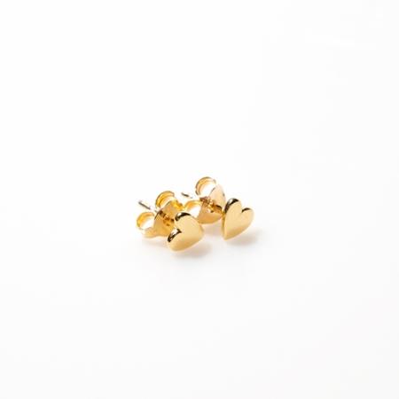 Selva Sauvage oorbellen Heart Gold