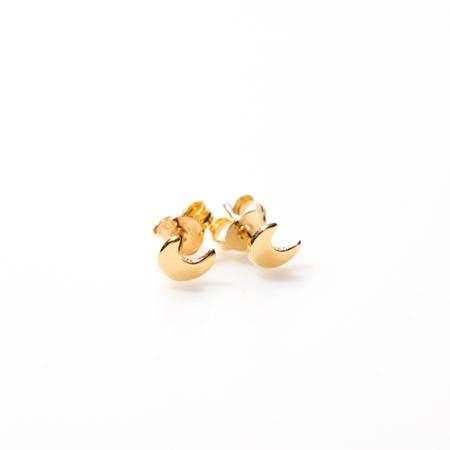 Selva Sauvage oorbellen Moon Gold