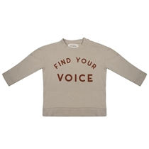 Sweater Find Your Voice Cement