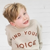 Little Indians Sweater Find Your Voice Cement
