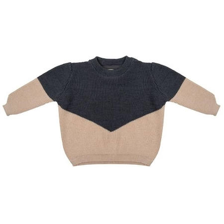Little Indians Knit Sweater Iron
