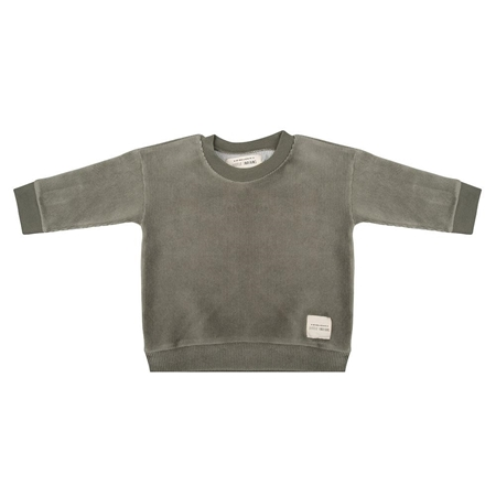 Little Indians Sweater Corduroy Green