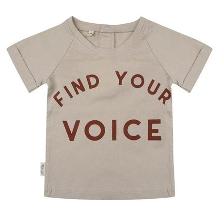 Little Indians Shirt Find Your Voice Cement