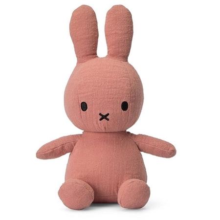 Nijntje - Miffy Nijntje knuffel Mousseline Pink 23cm