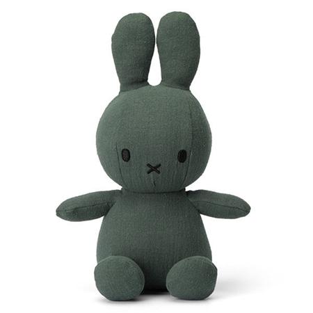 Nijntje - Miffy Nijntje knuffel Mousseline Green 23cm