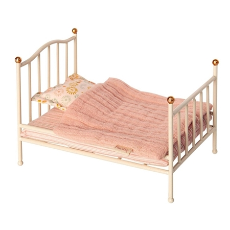 Maileg Vintage bed Off White