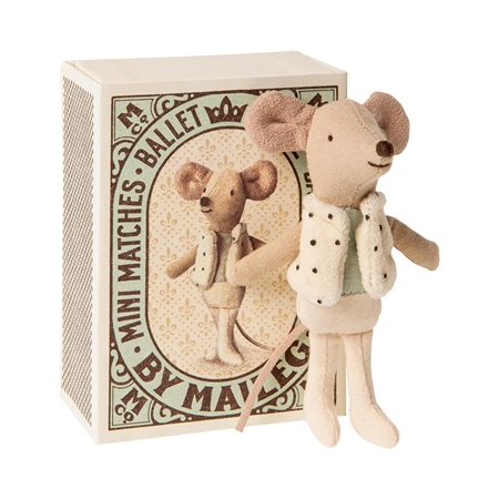 Maileg Dancer Little Brother in box