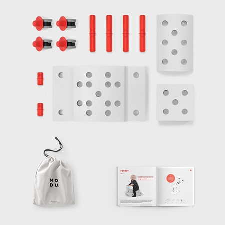 Modu Curiosity Kit Red