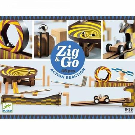 Djeco Zig & Go reactiebaan 45st