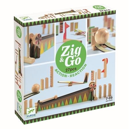 Djeco Zig & Go reactiebaan 27st