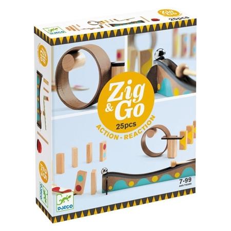 Djeco Zig & Go reactiebaan 25st