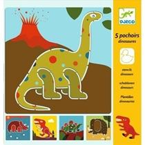 Sjablonen Dino
