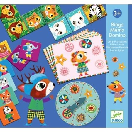Djeco Bingo, Memo en Domino (+3j)
