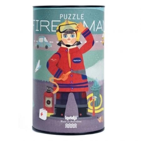 Londji Brandweer Puzzel 36st