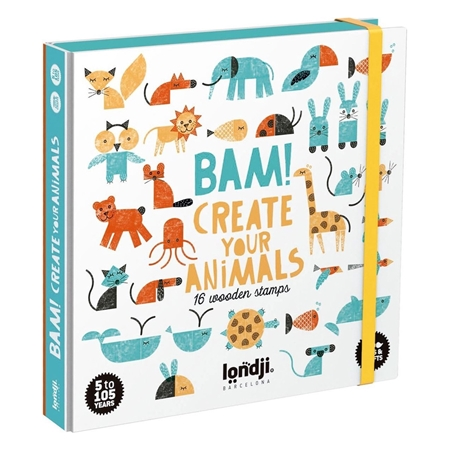 Londji Stempelset Create your animals