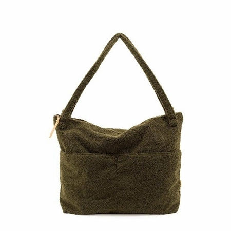 Nanami Lifestylebag Mom Bag Teddy Green