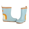 Grech & Co Regenlaarzen Rainbow Light Blue