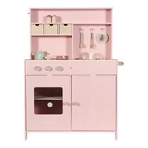 Houten speelkeuken Roze