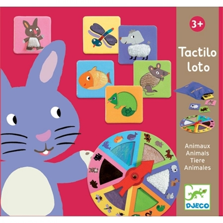 Djeco Tactilo Loto Voelspel (+3j)