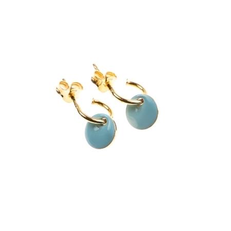 Selva Sauvage oorbellen Hoops Blue