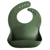 Mushie Silicone slab Forest green