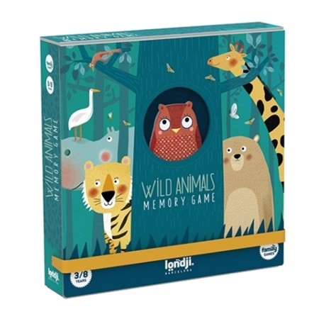 Londji Memorie Wild Animals (3-8j)