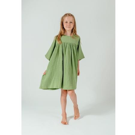 Selva Sauvage Dress Emilia Soft Green