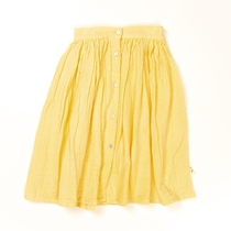 Skirt Long Soft Yellow