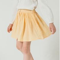 Skirt Short Soft Yellow