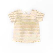 T-shirt Striped Yellow