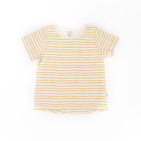 Selva Sauvage T-shirt Striped Yellow
