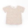 Selva Sauvage T-shirt Striped Rust