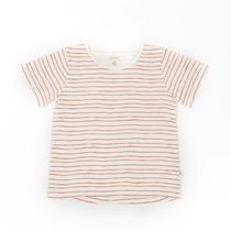 T-shirt Striped Rust