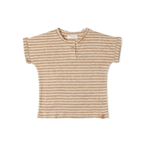 T-shirt Caramel Stripe