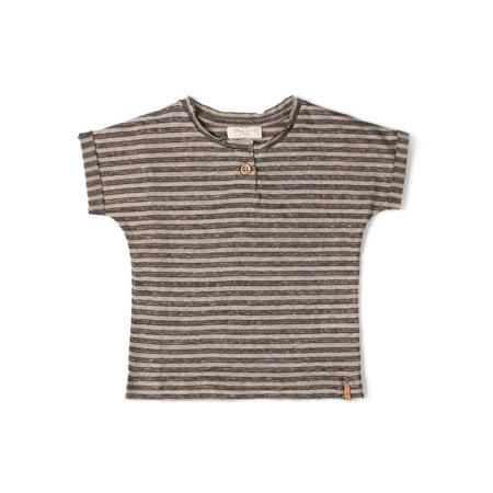 Nixnut T-shirt Night Stripe