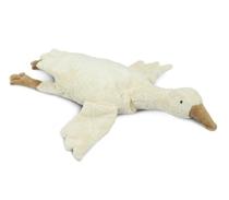 Warmte knuffel Goose Small White kersenpitkussen
