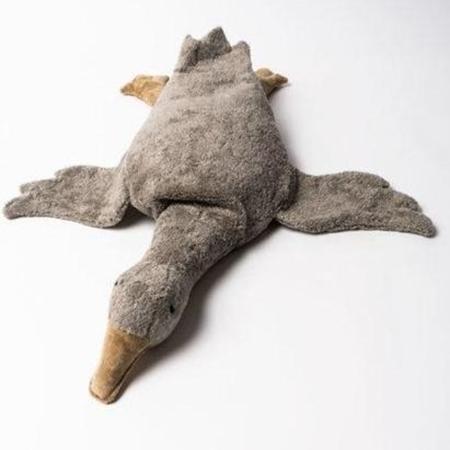 Senger Naturwelt Warmte knuffel Goose Large Grey speltkussen Vegan