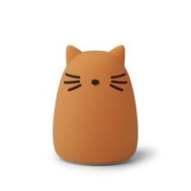 Winston Nachtlamp Cat Mustard