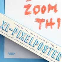 Spelposter XL Pixels