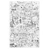 Stratier Spelposter XL kleurplaatposter Zomer