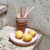 Liewood Zoe silicone rietjes Rose Mix
