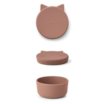 Cornelius Snackbox Cat Dark Rose