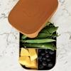 Liewood Arthur Lunchbox Cat Mustard