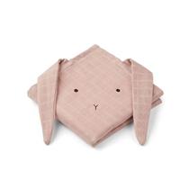 Hannah hydrofiele doeken Rabbit Rose 70x70cm