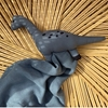 Liewood Agnete Knuffeldoekje Dino Blue Wave