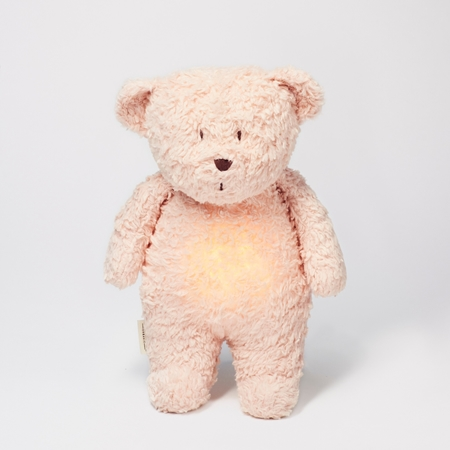 Moonie Knuffel Hartslag en Licht - Bear Rose