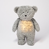 Moonie Knuffel Hartslag en Licht - Bear Mineral Grey